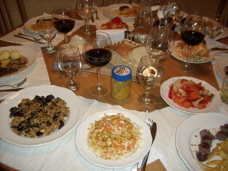 Вечеря в Panichiste